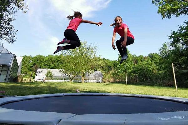 Inground trampolines - Akrobat