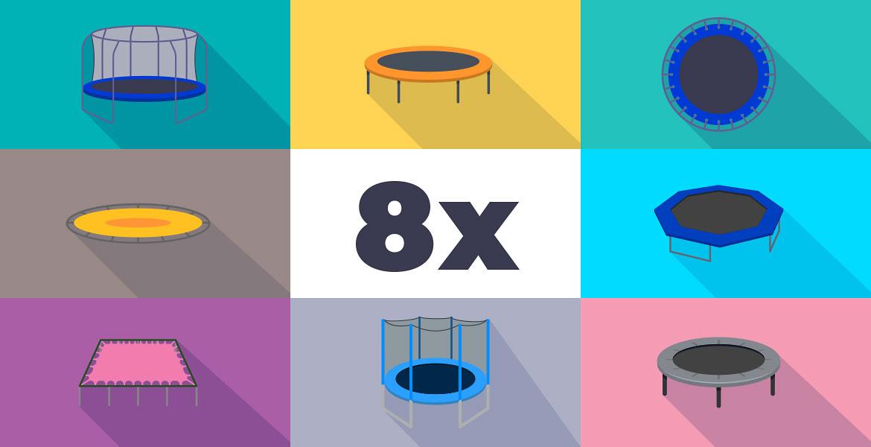 8 koristnih nasvetov za lažji nakup trampolina - AKROBAT