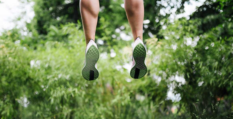 Skakanje na trampolinu je odlično za razstrupljanje telesa in krepitev imunskega sistem