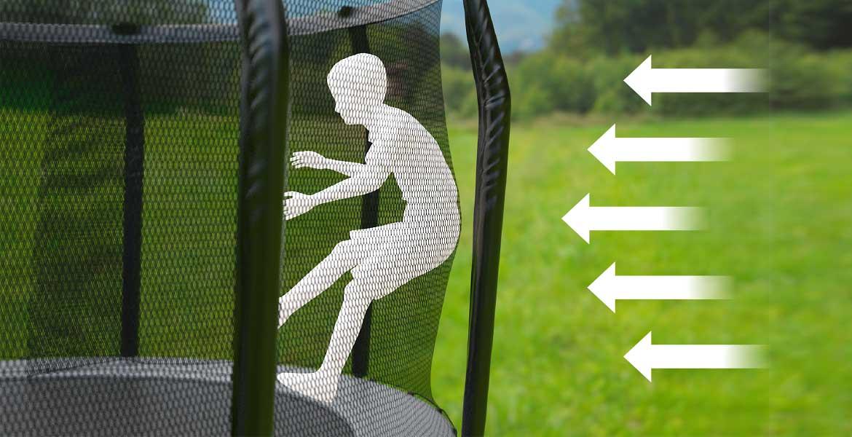 Akrobat - Ali trampolin potrebuje zaščitno mrežo?