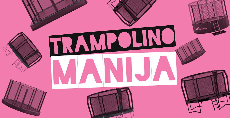 V svetu je zavladala prava trampolinomanija. Akrobat - trampolini